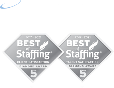Verigent logo with diamonds