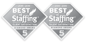 Verigent wins Best of Staffing in both Client & Talent Satisfaction by Inavero
