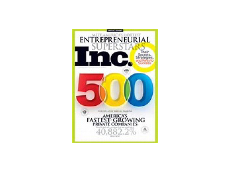 Verigent awarded Inc Magazine's 500 List for Fastest Growing Privately Held Companies in America